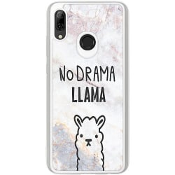 Huawei P Smart (2019) Transparent Mobilskal Llama Marble