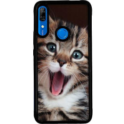 Huawei P Smart Z Soft Case (Svart) Surprised Kitten