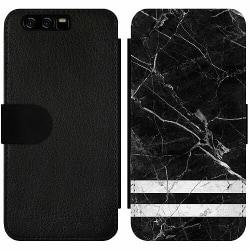 Huawei P10 Wallet Slim Case Marmor