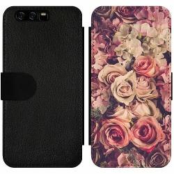 Huawei P10 Wallet Slim Case Romantic