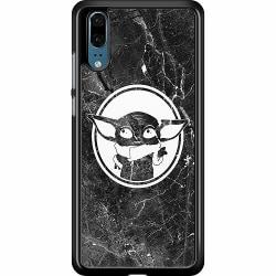 Huawei P20 Hard Case (Black) Baby Yoda