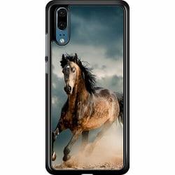 Huawei P20 Hard Case (Black) Häst