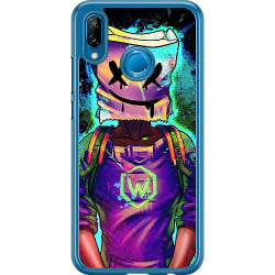 Huawei P20 Lite Hard Case (Transparent) Fortnite Marshmello
