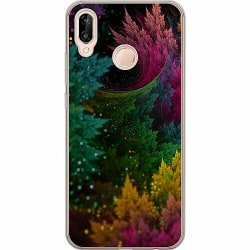 Huawei P20 Lite Thin Case Pixel Forest