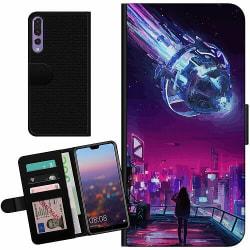 Huawei P20 Pro Billigt Fodral Cyberpunk 2077