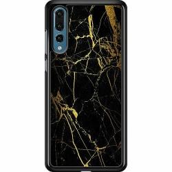 Huawei P20 Pro Hard Case (Svart) Marmor