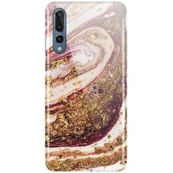 Huawei P20 Pro LUX Mobilskal (Glansig) Golden Honey