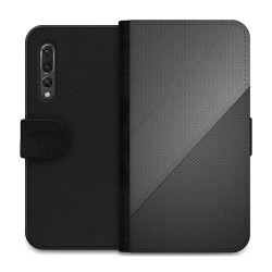 Huawei P20 Pro Wallet Case Black Leather