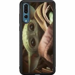 Huawei P20 Pro Soft Case (Svart) Baby Yoda