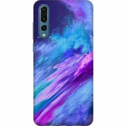 Huawei P20 Pro Thin Case Crashing Purples