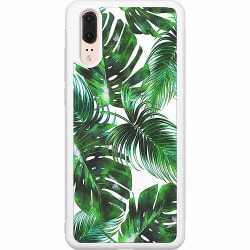 Huawei P20 Soft Case (Vit) Löv