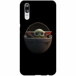 Huawei P20 Thin Case Baby Yoda