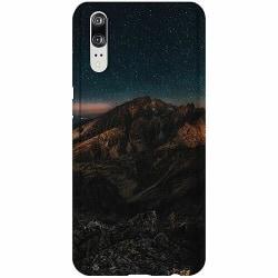 Huawei P20 Thin Case Galaxy Mountaintop