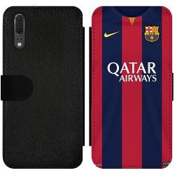 Huawei P20 Wallet Slim Case FC Barcelona
