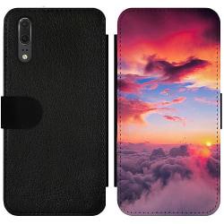 Huawei P20 Wallet Slim Case Lovely Sky