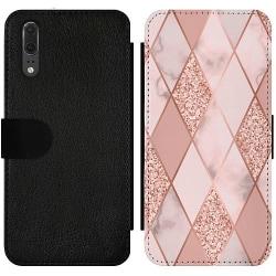 Huawei P20 Wallet Slim Case Mönster