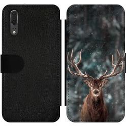 Huawei P20 Wallet Slim Case Oh Deer