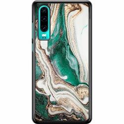 Huawei P30 Hard Case (Svart) Jungle