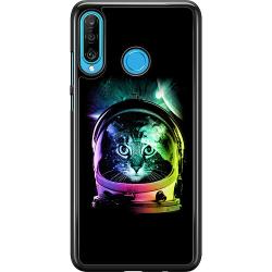Huawei P30 Lite Hard Case (Svart) Space Cat