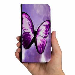 Samsung Galaxy A20s Mobilskalsväska Fjäril