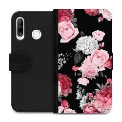 Huawei P30 Lite Wallet Case Blommor