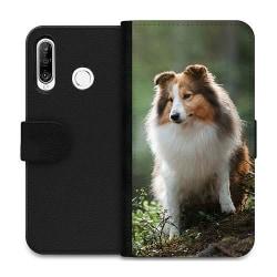Huawei P30 Lite Wallet Case Collie Dog