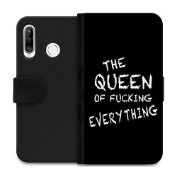 Huawei P30 Lite Wallet Case Queen of Everything
