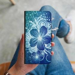 Samsung Galaxy S9 Plånboksskal Blommor