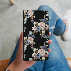 Samsung Galaxy S10 Plus Plånboksskal Floral
