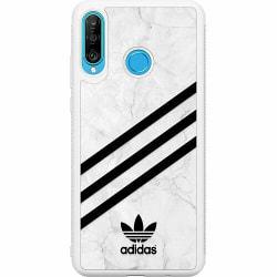 Huawei P30 Lite Soft Case (Vit) Fashion