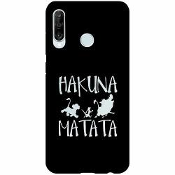 Huawei P30 Lite Thin Case Hakuna Matata