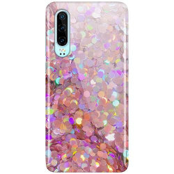 Huawei P30 LUX Mobilskal (Glansig) Glitter