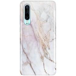 Huawei P30 LUX Mobilskal (Glansig) Light Marble