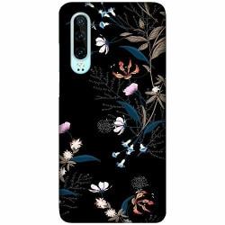 Huawei P30 LUX Mobilskal (Matt) Blommor