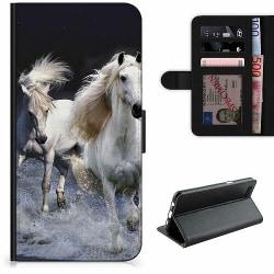 Huawei P40 Lite Lyxigt Fodral Häst / Horse