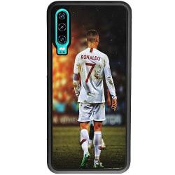 Huawei P30 Soft Case (Svart) Ronaldo