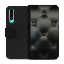Huawei P30 Wallet Case Black Leather
