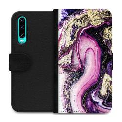 Huawei P30 Wallet Case Lila