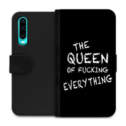 Huawei P30 Wallet Case Queen of Everything