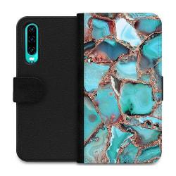 Huawei P30 Wallet Case Santorini