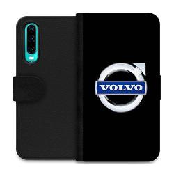 Huawei P30 Wallet Case Volvo
