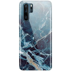 Huawei P30 Pro LUX Mobilskal (Glansig) Blue Shards
