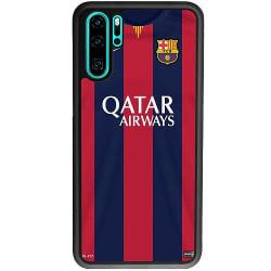 Huawei P30 Pro Soft Case (Svart) FC Barcelona