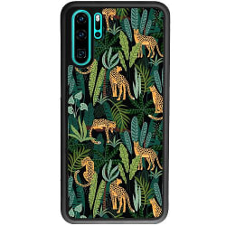 Huawei P30 Pro Soft Case (Svart) Jungle Days
