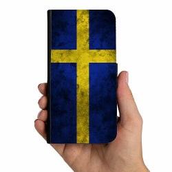 Samsung Galaxy Xcover 3 Mobilskalsväska Sverige Flagga