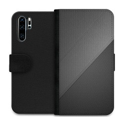 Huawei P30 Pro Wallet Case Black Leather