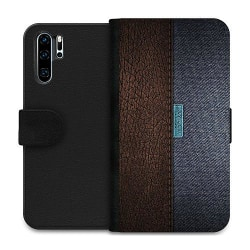 Huawei P30 Pro Wallet Case Leather Blue