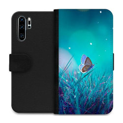 Huawei P30 Pro Wallet Case Magical Butterfly