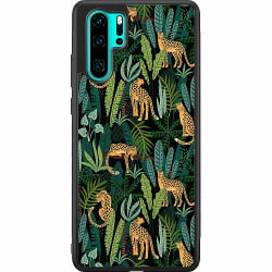 Huawei P30 Pro Soft Case (Svart) Jungle Days