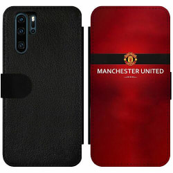 Huawei P30 Pro Wallet Slim Case Manchester United